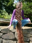 Long Hair meets Green Space